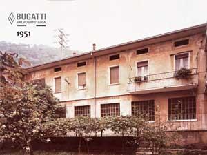 Фото завода Bugatti 1951