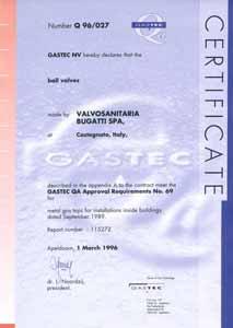 Сертификат Голландия Bugatti