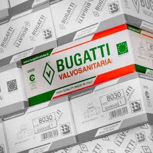 Коробки продукции Bugatti