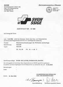 Сертификат Швейцария Bugatti