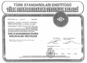 Сертификат Турция Bugatti
